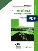Vitória - Transformações Na Ordem Urbana (IJSN)