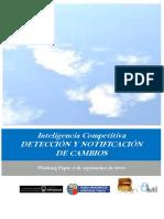 Inteligencia Competitiva. DETECCIÓN Y NOTIFICACIÓN DE CAMBIOS