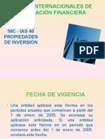 NIC 40 Prop.inversionPresentacion