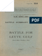 Battle Summary No 40 Battle for Lyte Gulf