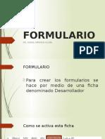 FORMULARIO 4 Clase de Avanzado