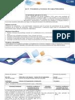 Guía de Actividades y Rúbrica de Evaluación Paso 0