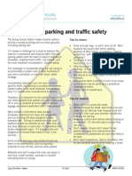 school parking and traffic safety