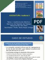 Auditoria II Tema I Efectivo - Ejercicio Maquinaeias San Felix (1)