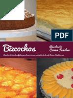 Recetario de Bizcochos de Cocina Familiar