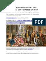 Por Qué Latinoamérica No Ha Sido Tan Próspera Como Estados Unidos