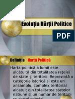 Evoluţia Hărţii Politice