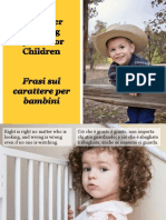 Frasi Sul Carattere Per Bambini - Character Building Thoughts for Children