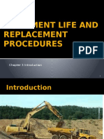 Chapter 3 Equipment Life and Replacement Procedures