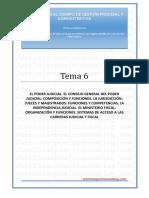_tema 06 - Poder Judicial_actualizado Lopj 2015