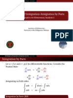 01 Integration by Parts - Handout