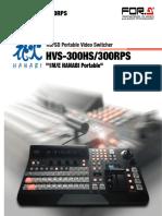 Videomixer Hvs300hs c