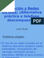 Educación y Redes Sociales