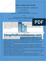 Hopsital Leasing Procedure