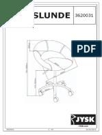 Horslunde Assembly Instructions