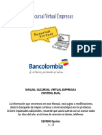 Manual Sucursal Empresas Bancolombia