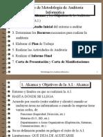 Fases de Metodología de Auditoría Informática