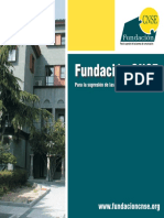 Folleto Institucional Fundacion CNSE