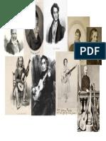 18th & 19th century guitarists