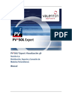 Manual Pvsolexpert Visualizacion3d Esp