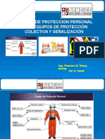 Uso de Epp, Equipos de Protección Colectiva y Señalzación