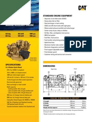 310663656 Caterpillar C18 ACERT | Turbocharger | Engines