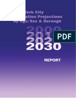New York City Population Projections by Age, Sex, and Borough 2030