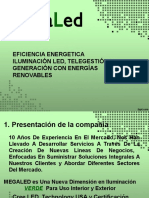 Ppt Eficiencia Energética Municipios - Megaled 2016