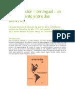 Pueblo Arhuaca y Traducción de la Constitución