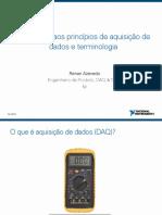 001 - Pt Introducao Aos Principios de Aquisicao de Dados e Terminologia