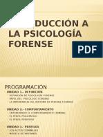 1 Introducción a La Psicología Forense