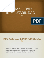 3 IMPUTABILIDAD - INIMPUTABILIDAD