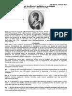 Declaração Dos Direitos Da Mulher e Da Cidadã (1)