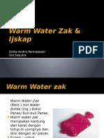 14. Warm Water Zak & Ijskap