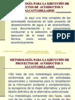 Metodologías para la Ejecución de Proyectos de Acueducto y Alcantarillado