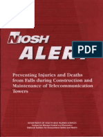 Preventing Falls During Tower Construction