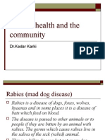 Animal health and the community