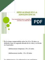 Sexualidad en La Adolescencia 21.5.16