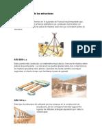 Reseña Historica de Las Estructuras