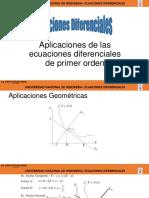 Aplica Geometricas ecuaciones diferenciales mb155