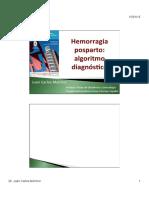 15 16.Diagnostico Tratamiento HPP2015 Dr.melchor