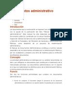 Documentos Administrativo