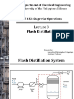 132.3 Flash Distillation