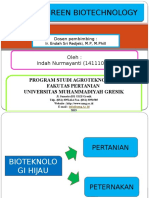 Green Biotechnologi