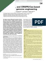 ZFN, TALEN, And CRISPR-Cas-based Methods for Genome Engineering