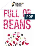 Live-Below-The-Line the-Hunger-Project-UK Full of Beans Recipe Pack 1 Menu Belowtheline