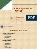 HPBP - LPBP System & APRDS.pptx