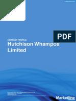 Hutchinsons Company Profile