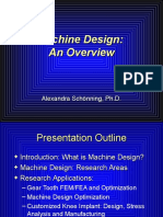 What is Machine Design