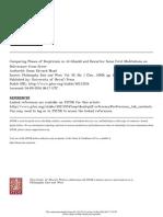 Comparing Phases of Skepticism in Al-Ghazālī and Descartes